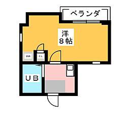 ラフォリア[3階]の間取り