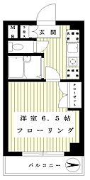 K home[206号室]の間取り