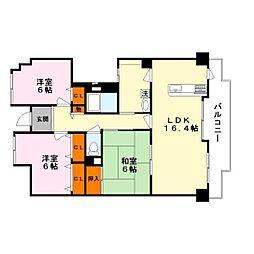 リノベーション〜レジデンス草津〜[4階]の間取り