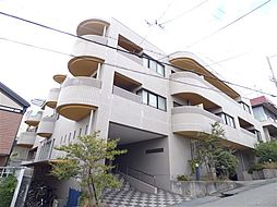 兵庫県神戸市東灘区森北町6丁目の賃貸マンションの外観