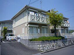 大阪府高槻市松が丘1丁目の賃貸アパートの外観