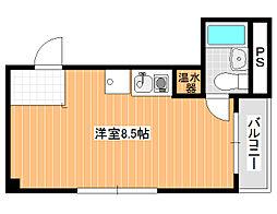 ハイツ加賀[5階]の間取り