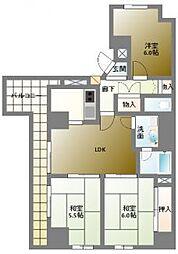 クレアシオン[5階]の間取り