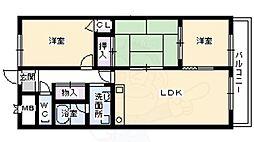 ジョリーハイツ3 1階3LDKの間取り