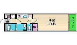 リブリ・メゾン・ド・ユアーズ 1階1Kの間取り
