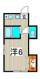 SKハイツ[2階]の間取り