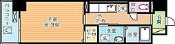 ラインスター三萩野[8階]の間取り