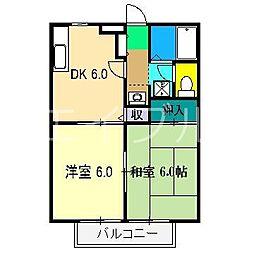 ソレーユ高見I[2階]の間取り