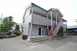 福岡県久留米市荒木町白口の賃貸アパートの外観