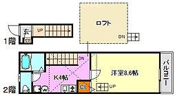 月見山駅 5.6万円