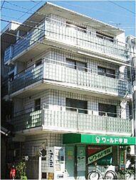 京都府京都市左京区高野玉岡町の賃貸マンションの外観