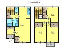 [テラスハウス] 大阪府岸和田市尾生町 の賃貸【/】の間取り