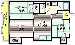 ハイム樹[1階]の間取り
