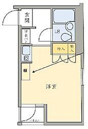 ジュール東高円寺[104号室]の間取り