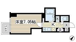 東京都豊島区巣鴨3丁目の賃貸マンションの間取り