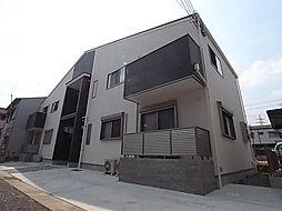兵庫県宝塚市中野町の賃貸アパートの外観