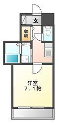 サンク栄みなみマンション[6階]の間取り