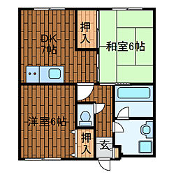 コルディア町田金森[3階]の間取り