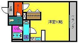 プリンセスマンション[5階]の間取り