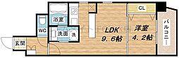 B-PROUD江戸堀[12階]の間取り