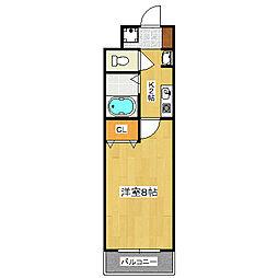 PLUM VILLAGE 京都駅前[4階]の間取り