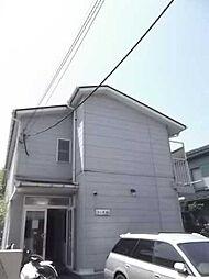 東京都調布市深大寺元町2丁目の賃貸アパートの外観
