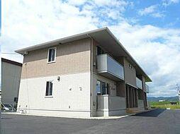 広島県福山市神辺町川南の賃貸アパートの外観