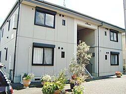 千葉県東金市上谷の賃貸アパートの外観