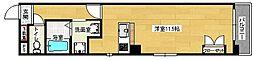クレール段原[6階]の間取り