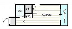 ロイヤルガーデン(山本2)[3階]の間取り