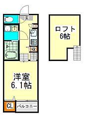 中村ミッドタワー31F (ナカムラミッドタワーサンジュウイチ[1階]の間取り