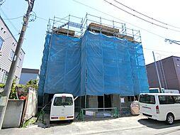 北海道札幌市厚別区厚別中央三条2丁目の賃貸マンションの外観