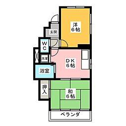 MTG HOUSE[2階]の間取り