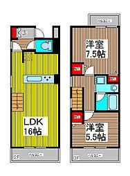 CORE HOUSE[3階]の間取り