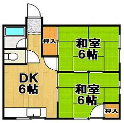 太田マンション[2階]の間取り