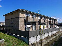 奈良県磯城郡三宅町大字屏風の賃貸アパートの外観