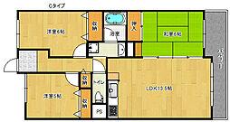 サワー・ドゥー住之江公園[12階]の間取り