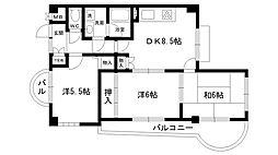 SEPIA西宮北口[4階]の間取り