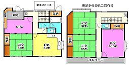 [一戸建] 東京都練馬区南大泉2丁目 の賃貸【/】の間取り
