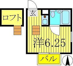 リーベフォル[2階]の間取り