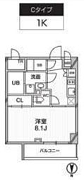 新築 レクシード武蔵関駅前[116号室号室]の間取り