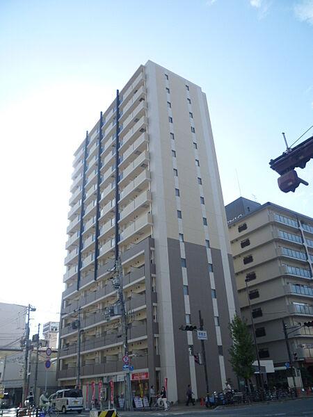 パークフラッツ尼崎(旧リュストル尼崎)[0908号室]の外観