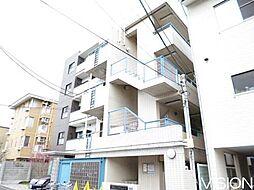 東京都北区浮間4の賃貸マンションの外観