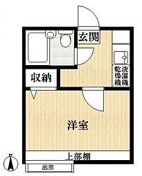 ユースフォーラム西瑞江A[1階]の間取り