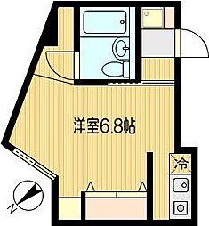 関戸センタービル[401号室]の間取り