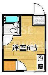 一乗寺荘[8号室号室]の間取り