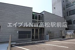 香川県丸亀市通町の賃貸アパートの外観