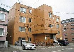 北海道札幌市北区新琴似八条1丁目の賃貸マンションの外観
