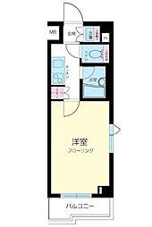 東京都中野区上鷺宮5丁目の賃貸マンションの間取り