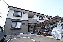 広島県廿日市市地御前5丁目の賃貸アパートの外観